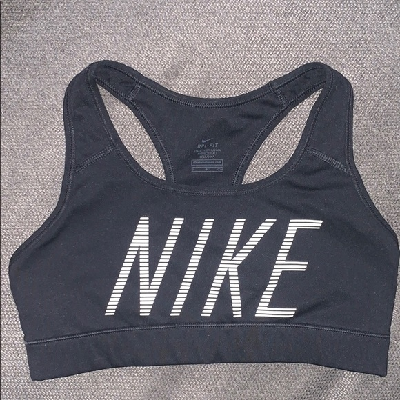 Nike Intimates Sleepwear Drifit Black Sports Bra Poshmark